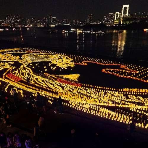 水辺を彩る江戸祭