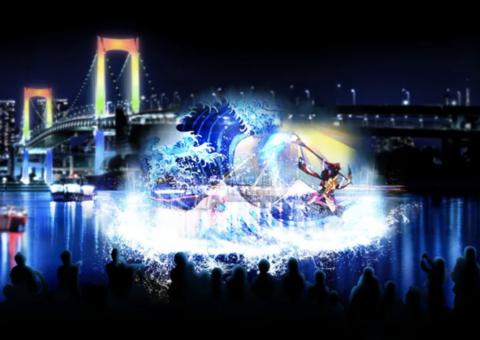 「model press」に水辺を彩る江戸祭りをご掲載頂きました